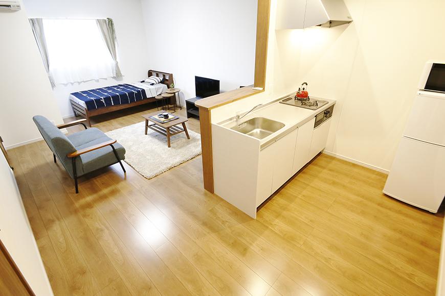【Garage Villa Yonezu】105号室_キッチン周り_MG_1033