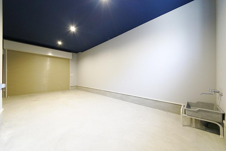 【Garage Villa Yonezu】105号室_ガレージ_シャッターCLOSE時_MG_0880