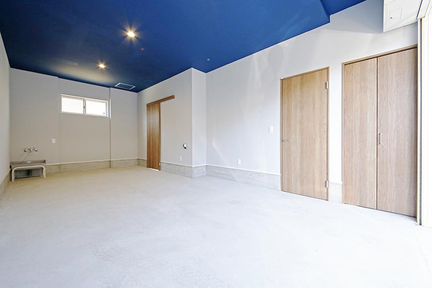 【Garage Villa Yonezu】105号室_ガレージ全景_MG_0739