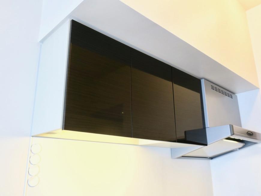 生活導線がきれいなキッチン周り。神田ヴィレッジ中川702号室5