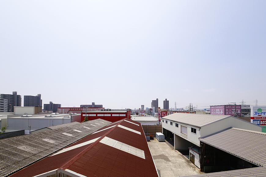 【フェリーチェ】共有部(廊下)からの眺望_MG_0035
