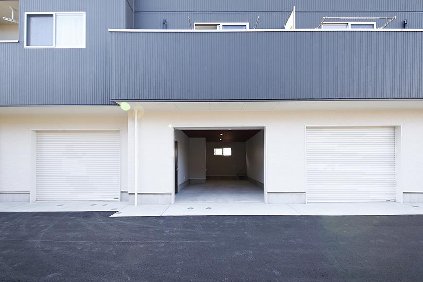 【Garage Villa Yonezu】107号室_ガレージ_外観_MG_1341