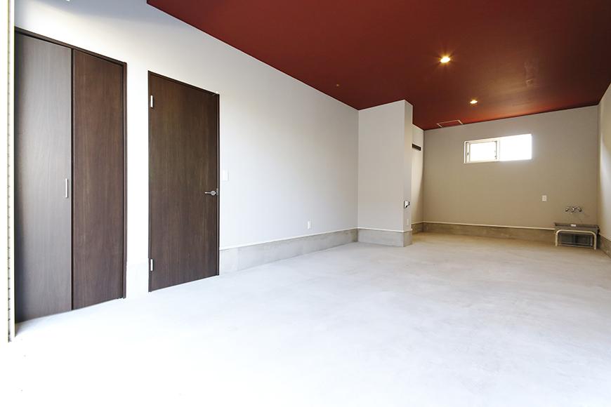 【Garage Villa Yonezu】107号室_ガレージ_全景_MG_1360