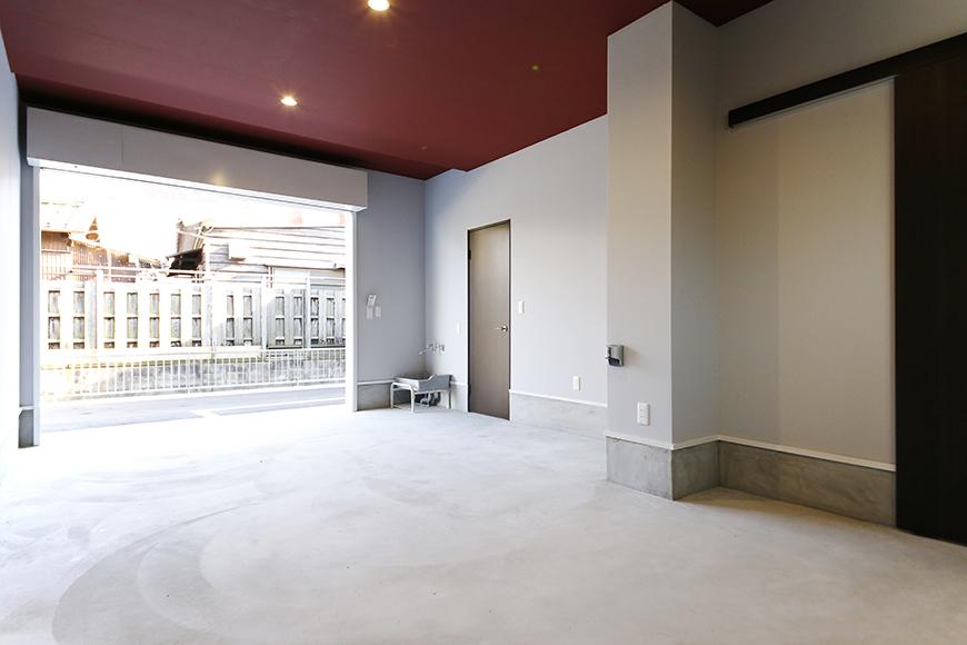 【Garage Villa Yonezu】101号室_ガレージ_MG_1252