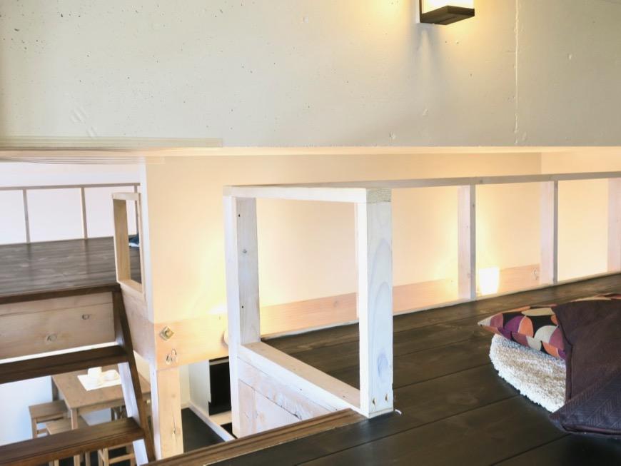 ロフト1・ロフトが2つあるお部屋。神田ヴィレッジ中川702号室3