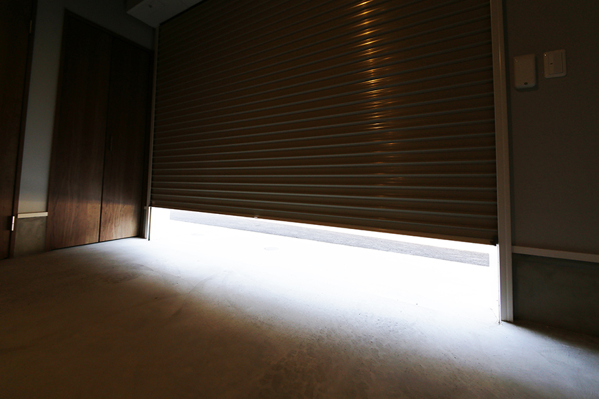 【Garage Villa Yonezu】105号室_ガレージ_MG_0859