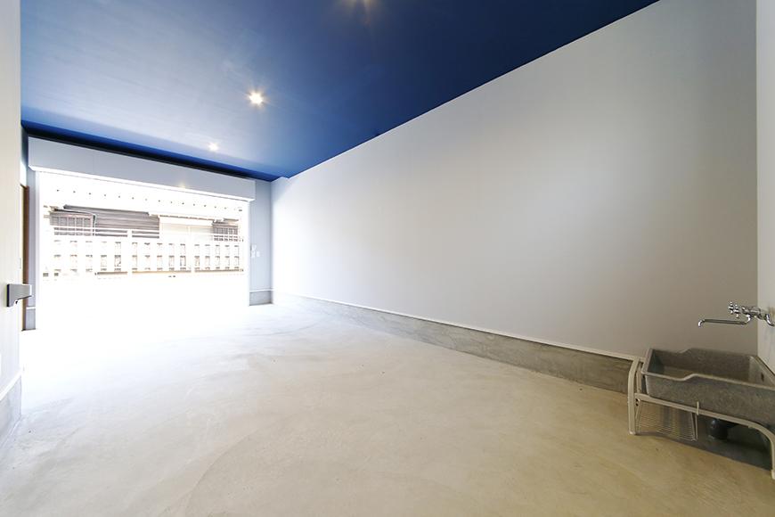 【Garage Villa Yonezu】105号室_ガレージ_全景_MG_0900
