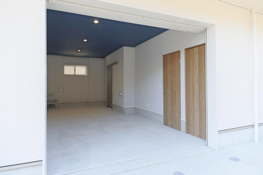 【Garage Villa Yonezu】105号室_ガレージ_外観_MG_0838
