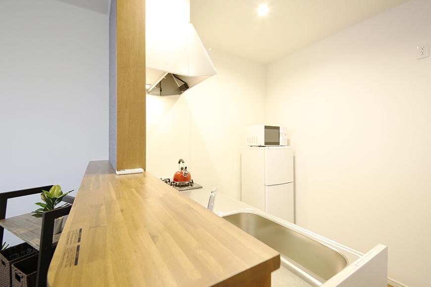 【Garage Villa Yonezu】105号室_キッチン周り_MG_1197