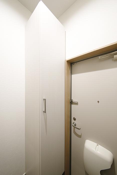 【Garage Villa Yonezu】107号室_玄関_シューズボックス_MG_1412