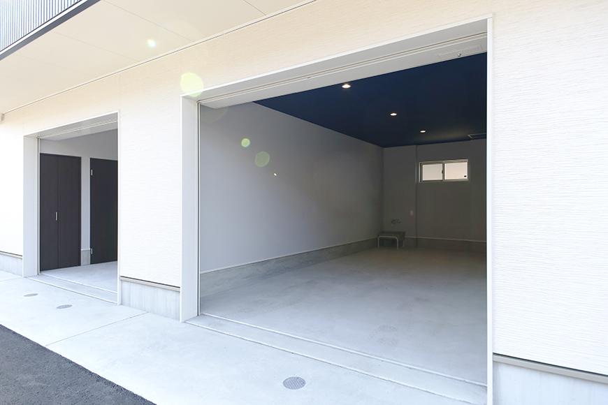 【Garage Villa Yonezu】105号室_ガレージ_外観_MG_0832