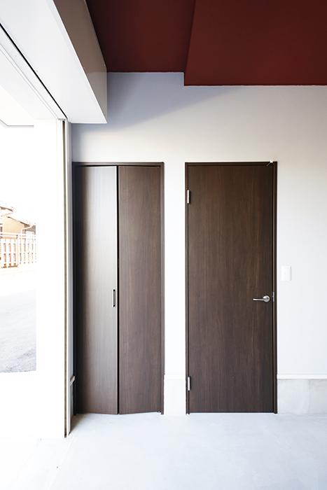 【Garage Villa Yonezu】107号室_ガレージ_収納_MG_1364