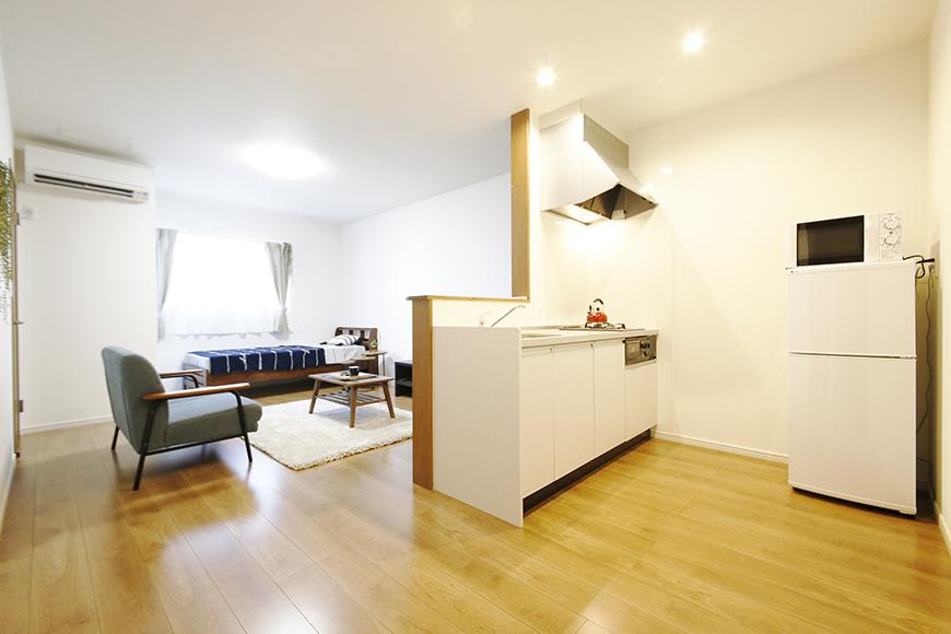 【Garage Villa Yonezu】105号室_キッチン周り_MG_1026