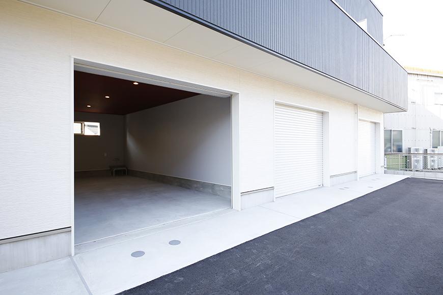 【Garage Villa Yonezu】107号室_ガレージ_外観_MG_1348