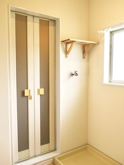 バスルーム。TOMOS メイプルハウス201号室3