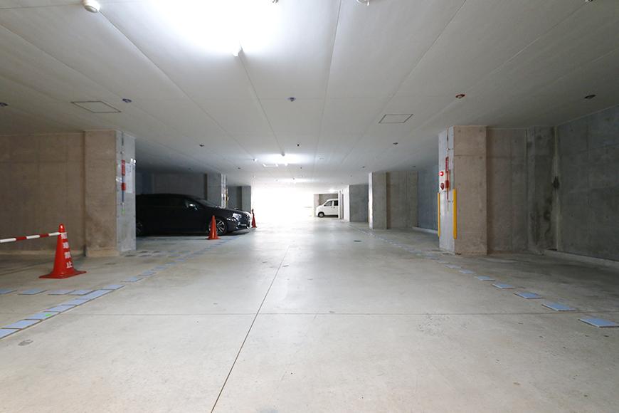 【ジョイ桜本町】地下駐車場_MG_2654