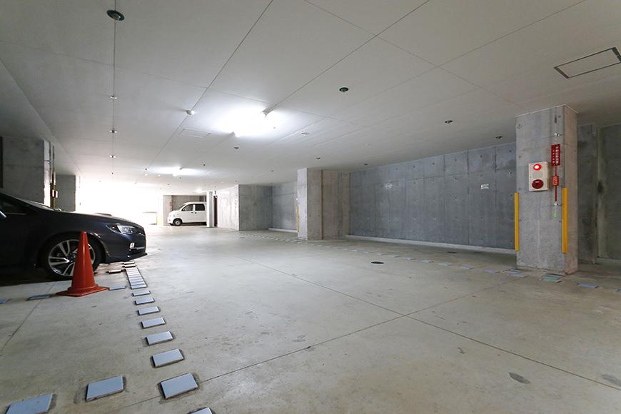 【ジョイ桜本町】地下駐車場_MG_2657