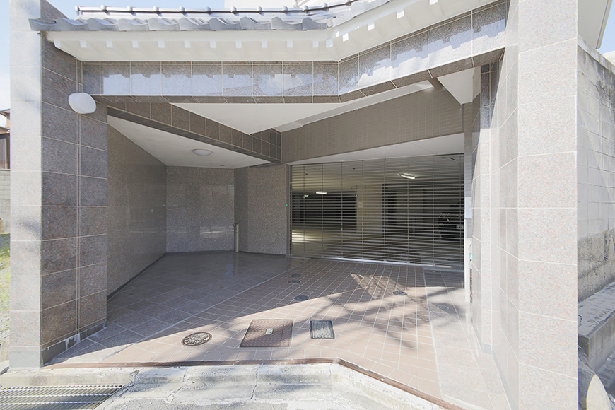 【ジョイ桜本町】地下駐車場_MG_2714