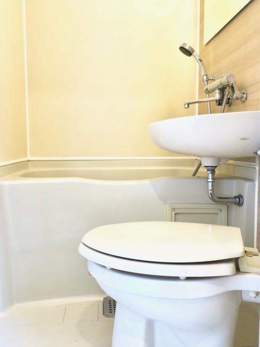 バスルーム。TOMOS メイプルハウス201号室1