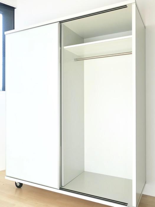 可動式クローゼット。BAUWERK(バウヴェルク)302号室1