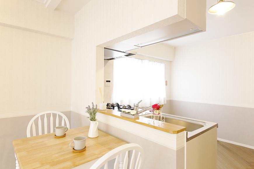 【キャッスル東栄】B棟302号室_LDK_キッチン周り_MG_0557