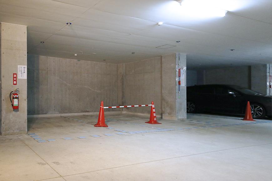 【ジョイ桜本町】地下駐車場_MG_2637s