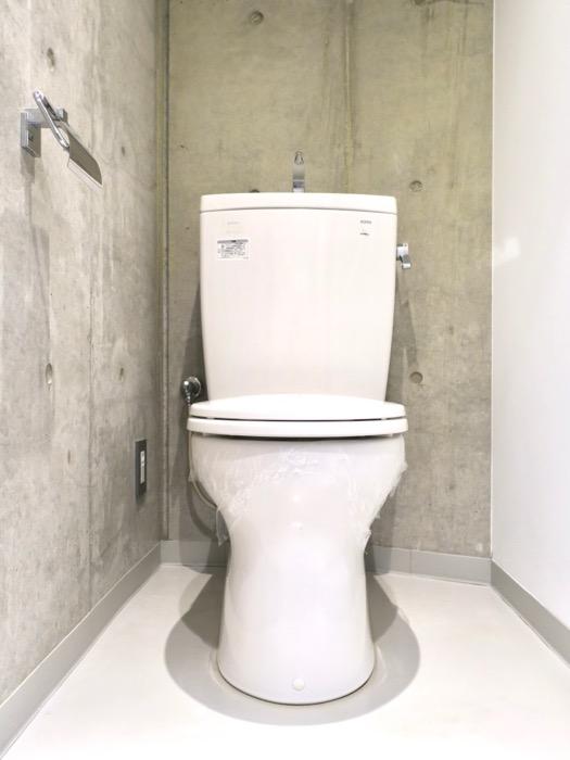 コンクリート打ちっ放しのトイレ BAUWERK(バウヴェルク)302号室4