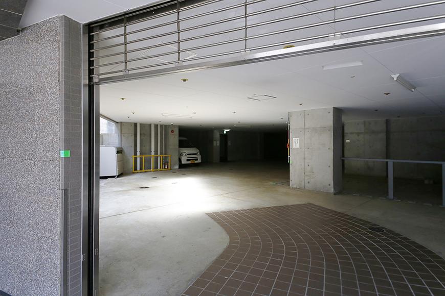 【ジョイ桜本町】地下駐車場_MG_2734