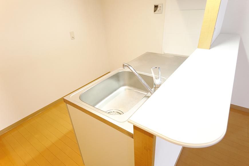 【ジョイ桜本町】107号室_LDK_キッチン周り_MG_1846