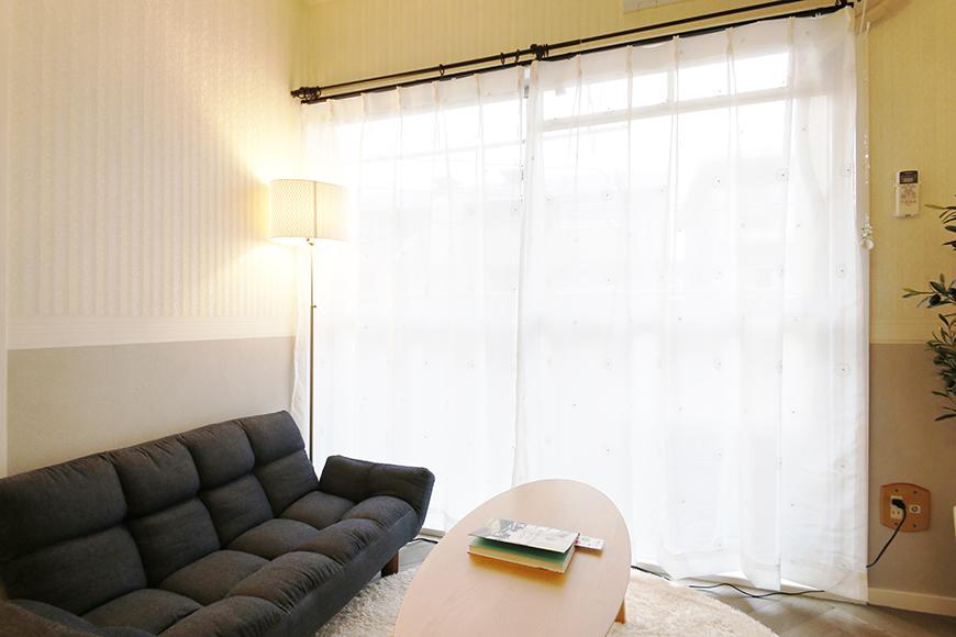 【キャッスル東栄】B棟302号室_LDK_窓のそばのリラックスゾーンMG_0718