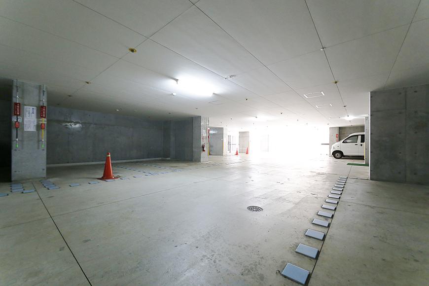 【ジョイ桜本町】地下駐車場_MG_2665