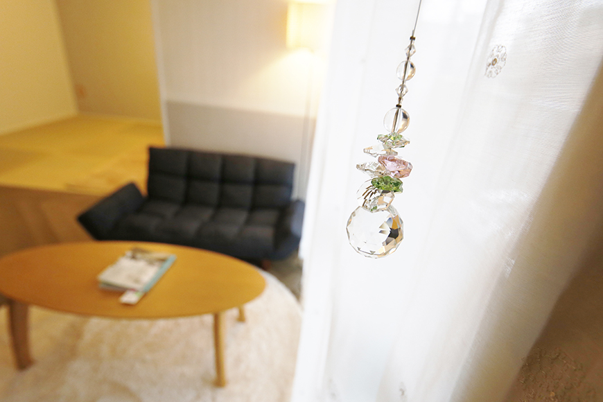 【キャッスル東栄】B棟302号室_LDK_サンキャッチャーの映える窓際_MG_0712