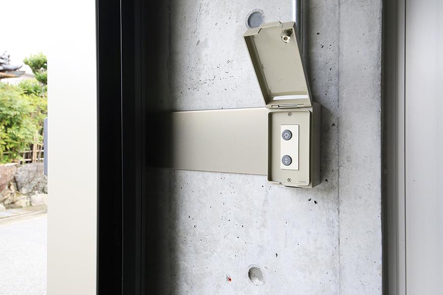 【01/HY】6号室_一階_ガレージ_電動シャッター・照明のリモコン_MG_2163
