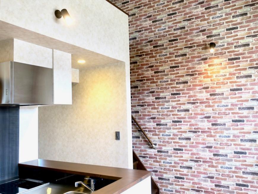 リビング。カフェのようなアパート。espresso清須2A4