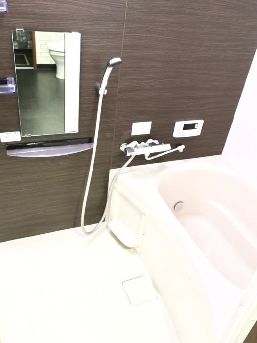 サニタリー&バスルーム ブルックリンカフェ風アパートメント。ESPRESSO清須1A号室3