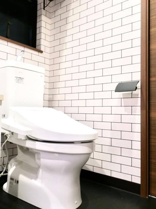 サニタリー&バスルーム ブルックリンカフェ風アパートメント。ESPRESSO清須1A号室10