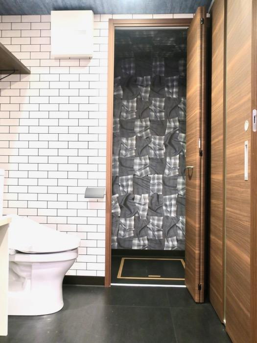 サニタリー&バスルーム ブルックリンカフェ風アパートメント。ESPRESSO清須1A号室5