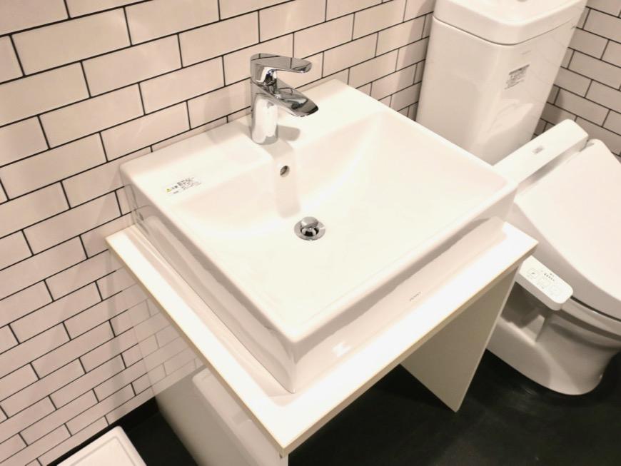 サニタリー&バスルーム ブルックリンカフェ風アパートメント。ESPRESSO清須1A号室9
