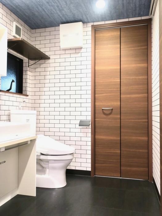 サニタリー&バスルーム ブルックリンカフェ風アパートメント。ESPRESSO清須1A号室7