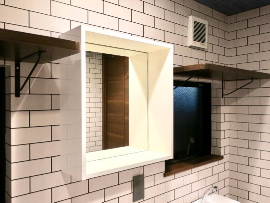 サニタリー&バスルーム ブルックリンカフェ風アパートメント。ESPRESSO清須1A号室8