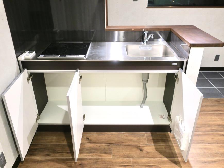 キッチン台 ブルックリンカフェ風アパートメント。ESPRESSO清須1A号室2