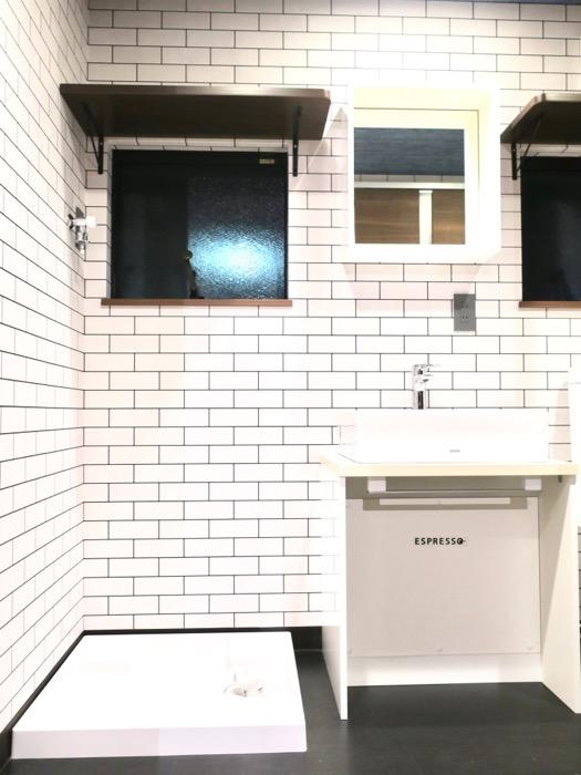 サニタリー&バスルーム ブルックリンカフェ風アパートメント。ESPRESSO清須1A号室0