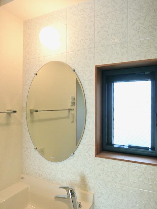 上品で清潔なパウダールーム。AZUR JOSAI 2A 2