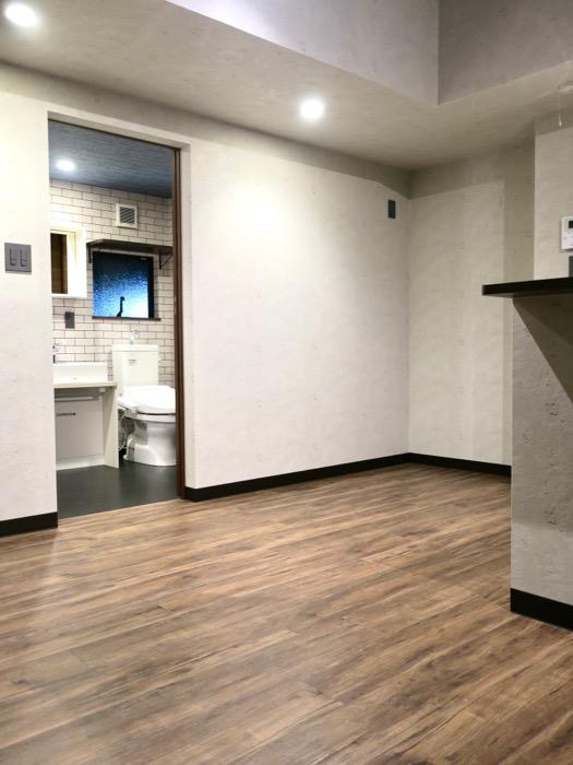 ブルックリンのカフェのようなリビング。ESPRESSO清須1A号室18