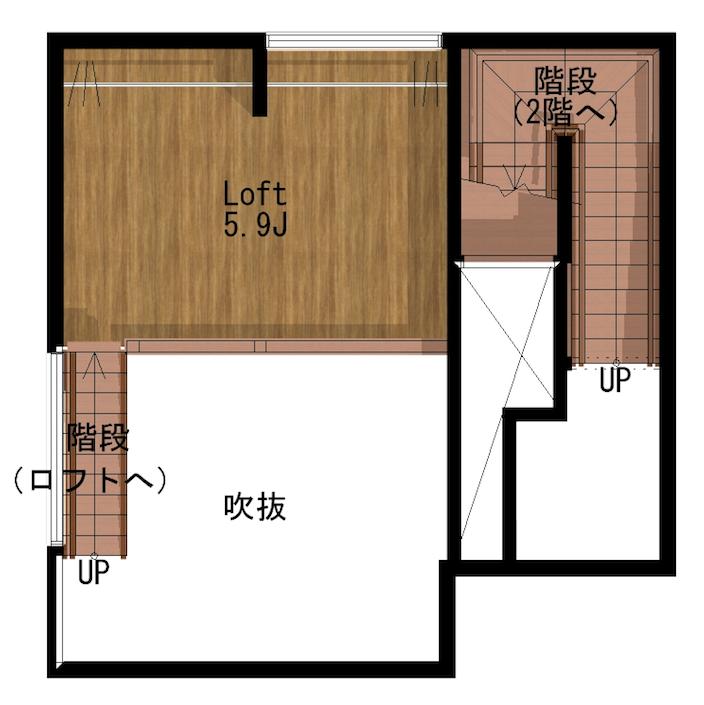 間取り ESPRESSO清須1A号室1