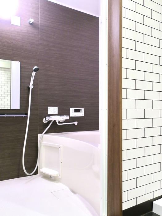 サニタリー&バスルーム ブルックリンカフェ風アパートメント。ESPRESSO清須1A号室2
