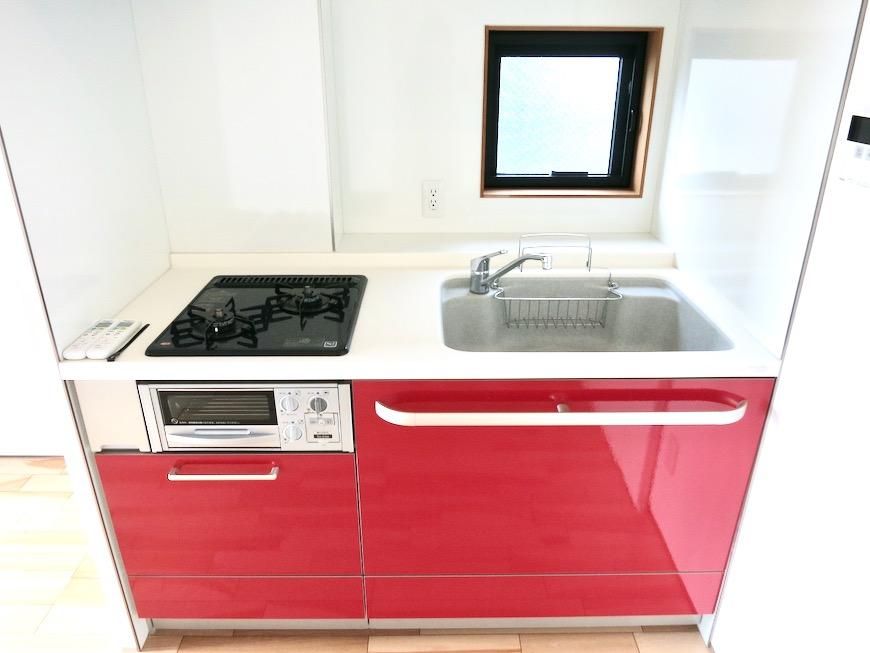 上皮でお洒落なキッチン台。AZUR JOSAI 3B 4