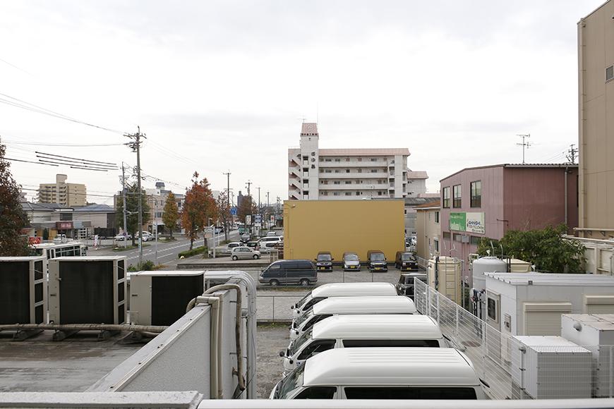 【ドヌール諏訪】203号室_バルコニーからの眺望_MG_5873