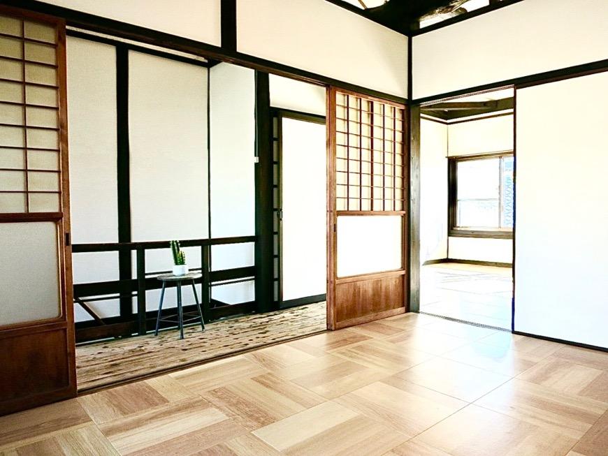 2F 梁のあるお家。古民家風戸建てリノベーション。BB Style~SAKIGAKE~4