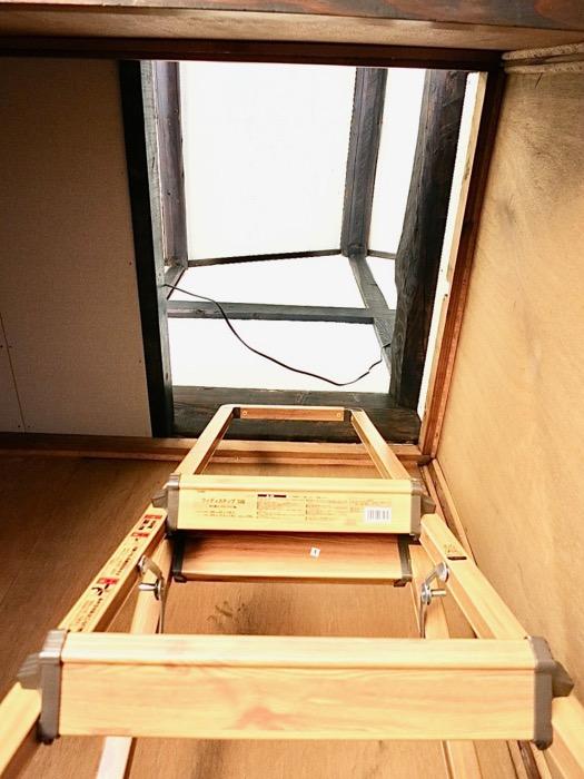 2階。押入れと、押し入れからロフト。古民家風戸建てリノベーション。BB Style~SAKIGAKE~5